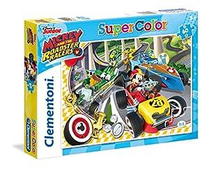 Clementoni 26976 Puzzle Puzzle - Rompecabezas (Puzzle Rompecabezas, Dibujos, Niños, Mickey and The Roadster Racers, Mickey, Niño/niña)