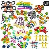 Caratteristiche: L'assortimento di giocattoli 110 pezzi per feste è composto da piccoli giocattoli divertenti, regali, riempimenti e premi. E 'ottimo per i sacchetti per bambini festaioli, cestino di Pasqua, festa di compleanno, premi in aula...