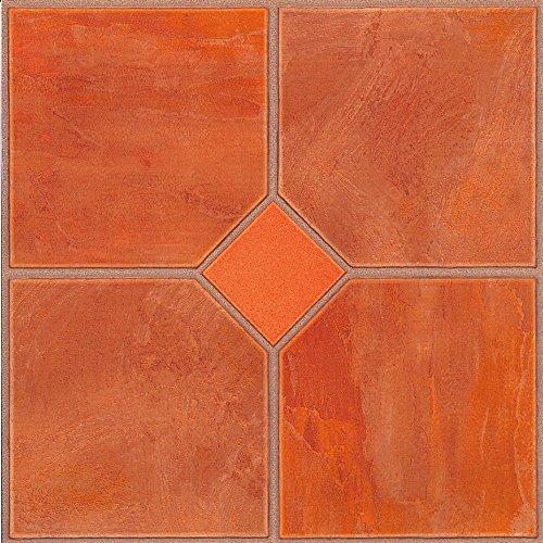 60x-vinyl-boden-fliesen-selbstklebend-kuche-bad-sticky-brandneues-orange-classic-182
