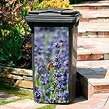 Mülltonnen-Aufkleber Lavendel