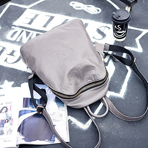 GUANGMING77 Ms _ Zaino Zaino Borsa,Nero gray