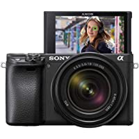 Sony Alpha 6400 | APS-C Fotocamera senza specchio con obiettivo zoom Sony 18-135 mm f/3.5-5.6 (messa a fuoco automatica…
