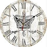 Longless Unione, orologio, legno, orologio da parete 30cm