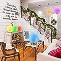 """3D Mond Lampe mit Timer, DTOETKD 16 Farbe RGB Mondlicht Nachtlicht LED 15cm/5.9"""" Mondlampe Stimmungslicht Dimmbare Fernbedienung & Touchschalter USB Lade Nachtlampe Mond Licht für Kinder Geschenk"""