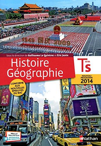 Histoire-Géographie Term S - Le Quintrec/Janin