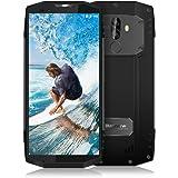 """Blackview BV9000 Smartphone debloqué 4G, Portable Etanche/Anti-poussière/Antichoc IP68 Telephone Portable incassable (Ecran 5.7"""" - 64Go- Dual Nano SIM - Android 7.1-8.0 MP/13.0 + 5.0 MP) Gris"""