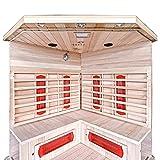 Home Deluxe Redsun XXL Infrarotsauna | inkl. vielen Extras und komplettem Zubehör - 4