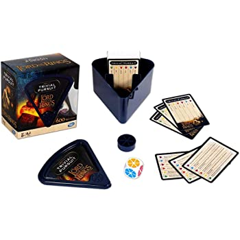 Waddingtons Lord of the Rings Trivial Pursuit Game