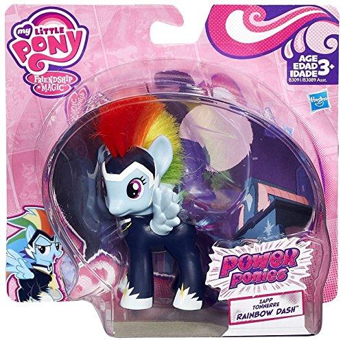 My Little Pony Friendship is Magic Power Ponies Zapp Tonnerre Rainbow Dash Exclusive Figure by My Little Pony