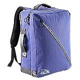 Cabin Max Oxford Rucksack 50x40x20cm Handgepäck – Rucksack mit Riemen, die sich verstauen lassen (Indigo backpack)
