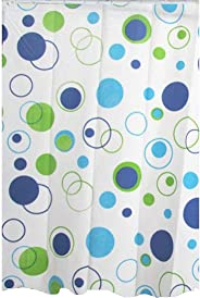 LANKE Shower Curtain Bathroom Waterproof Anti-Mold Modern Minimalist Fashion Curtain (style-2)