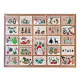 Adventskalender zum Befüllen für Kinder und Erwachsene / Kindheitszauber Adventskalender unbefüllt / Adventskalender mit Geschenkanhängern / ein zauberhaftes und persönliches Geschenk