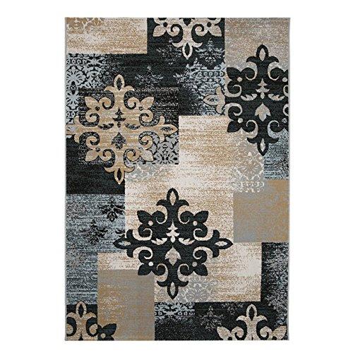 Neify - Alfombra rectangular moderna simple nórdica Colección marroquí tradicional Shaggy Alfombras antideslizantes contemporáneas para la sala de estar Sofá Mesa de café Dormitorio Decoración de la alfombra ( Color : 140cm*200cm )