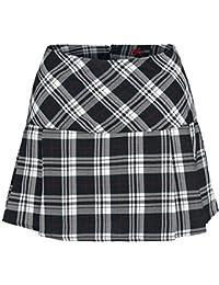 Spin Doctor Scotish Mini Skirt Skirt black-white L