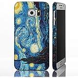 Classic Art Collection casos para la gama de Samsung Galaxy. famosa Artista Pintura fundas, plástico, Starry Night - Vincent Van Gogh, Galaxy S6