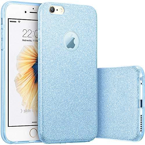 FIVE CENTS iPhone 6Plus/6S Plus, Fashion Luxury Schutz Hybrid Beauty Kristall Diamant Strass Sparkle Glitter Harte Schutzhülle, Goldgelb