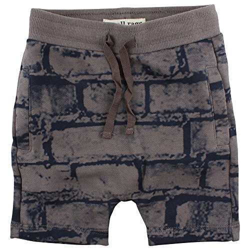 Small Rags Baby-Jungen Eddy Shorts, Grau (Grey Castle 01-75), 104 Preisvergleich