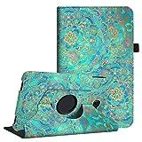 Fintie Hülle für Samsung Galaxy Tab A 10,1 Zoll T580N / T585N Tablet - 360°Drehbarer Stand Cover Case Schutzhülle Tasche Etui mit Ständerfunktion Auto Schlaf/Wach Funktion, Jade