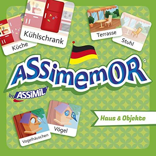 ASSiMEMOR Haus & Objekte: Das kinderleichte Deutsch-Gedächtnisspiel von ASSiMiL