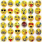 German Trendseller® - emoji pin┃bouton┃émoticôn┃l'anniversaire d'enfant┃ petit cadeau┃smiley┃ happy face┃