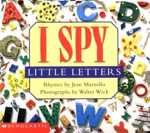 I Spy Little Letters by Marzollo, Jean (2000) Board book