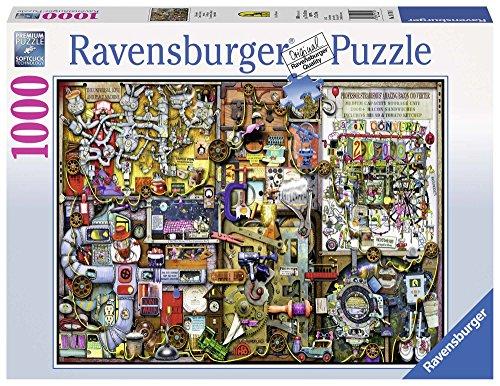 Ravensburger 19710 - Puzzle Colin Thompson Inventiva, 1000 Pezzi