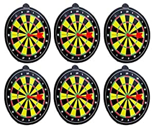 Perpetual Bliss (Pack of 6) Magnetic Dart Game for Kids / Birthday Party Return Gifts (Dimension)cm:21x21x1