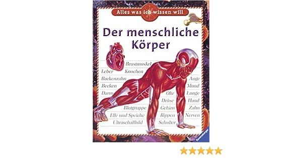 Der menschliche Körper Alles was ich wissen will: Amazon.de: Steve ...