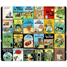 26x21cm 10x8inch Gaming Mouse Pads accurate cloth antiskid rubber Quality low-friction The Adventures of Tintin