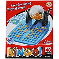Trendi® Kids Children's Bingo Game Set Lotto Lottery Number 90 Numbered Balls 48 Playing Cards Family Classic Traditional Game