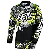 O'Neal  ELEMENT Youth Jersey ATTACK black/hi-viz M