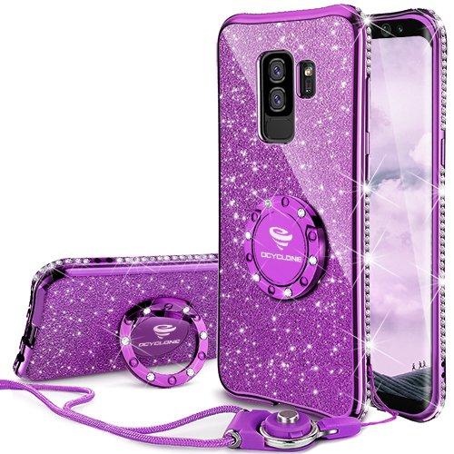 OCYCLONE Fundas Samsung Galaxy S9 Plus Púrpura