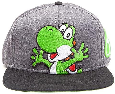 Super Mario Cap Mario Luigi & Yoshi Snapback Baseball Cap Nintendo Mütze Schirmmütze