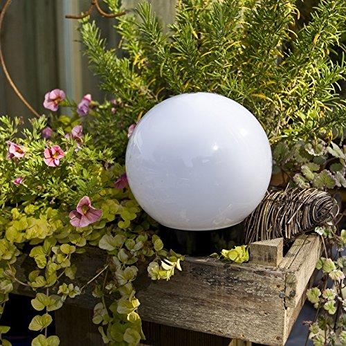 Lampe globe Léger Ø 20cm - avec Câble en caoutchouc et Prise