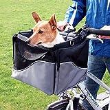 WANGADO Robusta e resistente cesta da bici e sportain nylon 2 in 1 L 41 x P 26 x H 26 cm tasche...