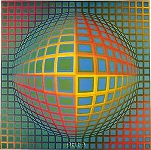 Amazon.de: Victor Vasarely - Vega -Nor Kunstdruck (63, 50