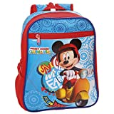 Disney Mickey Vespa Kinder-Rucksack, 28 cm, 6.44 liters, Mehrfarbig (Multicolor)