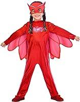 amscan PJMASQUES Costume Pj Mask Owlette (3-4 Anni),, 3, 7AM9902948