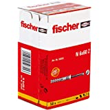 Fischer 50355, Het inslaganker met verzonken schroef is ideaal voor het bevestigen van houten constructies binnenshuis en voo