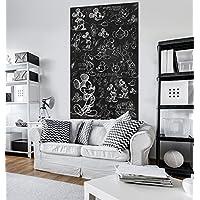 Komar VD-052 Mickey Vlies Fototapete, schwarz/weiß, 120 x 200 cm