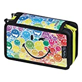 Herlitz SmileyWorld Trousse à 3 compartiments 31 pièces Multicolore