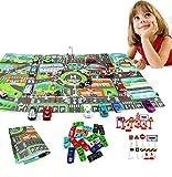 JYOHEY 29 Stück Garage Spielzeug Parkhaus Spielzeug Stadt Straßenkarte Parkgarage Auto Spielzeug und Verkehrszeichen Für Kinder Geschenk