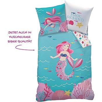 mermaid meerjungfrau m dchen bettw sche kinderbettw sche ocean girl magische momente in. Black Bedroom Furniture Sets. Home Design Ideas