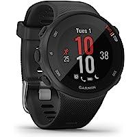 Garmin Forerunner 45S – GPS-Laufuhr im schlanken Design mit umfangreichen Lauffunktionen, Trainingsplänen…