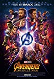 The Avengers: infinity War – U.S IMAX Movie Wall Poster Print – 30 cm x 43 cm Brand New