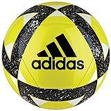 adidas Starlancer V Pallone da Calcio, Uomo, Uomo, CW5344, Giallo/Nero/Bianco (amasho), 5
