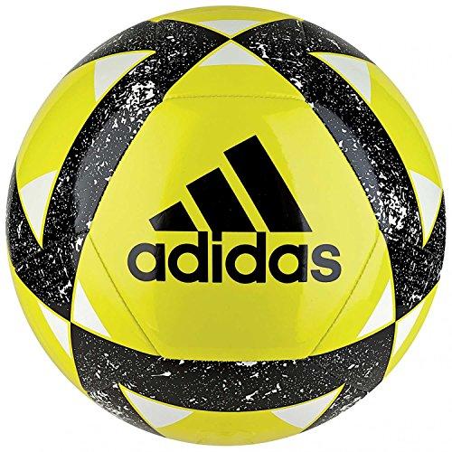 adidas Starlancer V Balón, Hombre, Amarillo/Negro/Blanco (amasho), 5