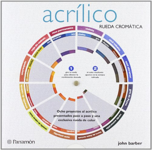 ACRILICO RUEDA CROMATICA (Rueda cromática) por John Barber