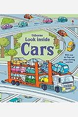 Look Inside Cars (Usborne Look Inside): 1 (Look Inside Board Books) Board book