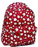 Zaino Americano Rosso Flowers Camomilla